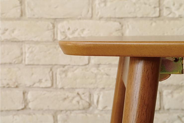 ガルト リビングテーブル NS ノスト 折りたたみテーブル 完成品 ツートン