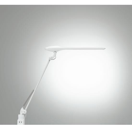 コンセント&USB付 卓上クランプタイプ シングルアーム LEDデスクライト PRELE プレール 865BSZ-G928 865BSZ-G756