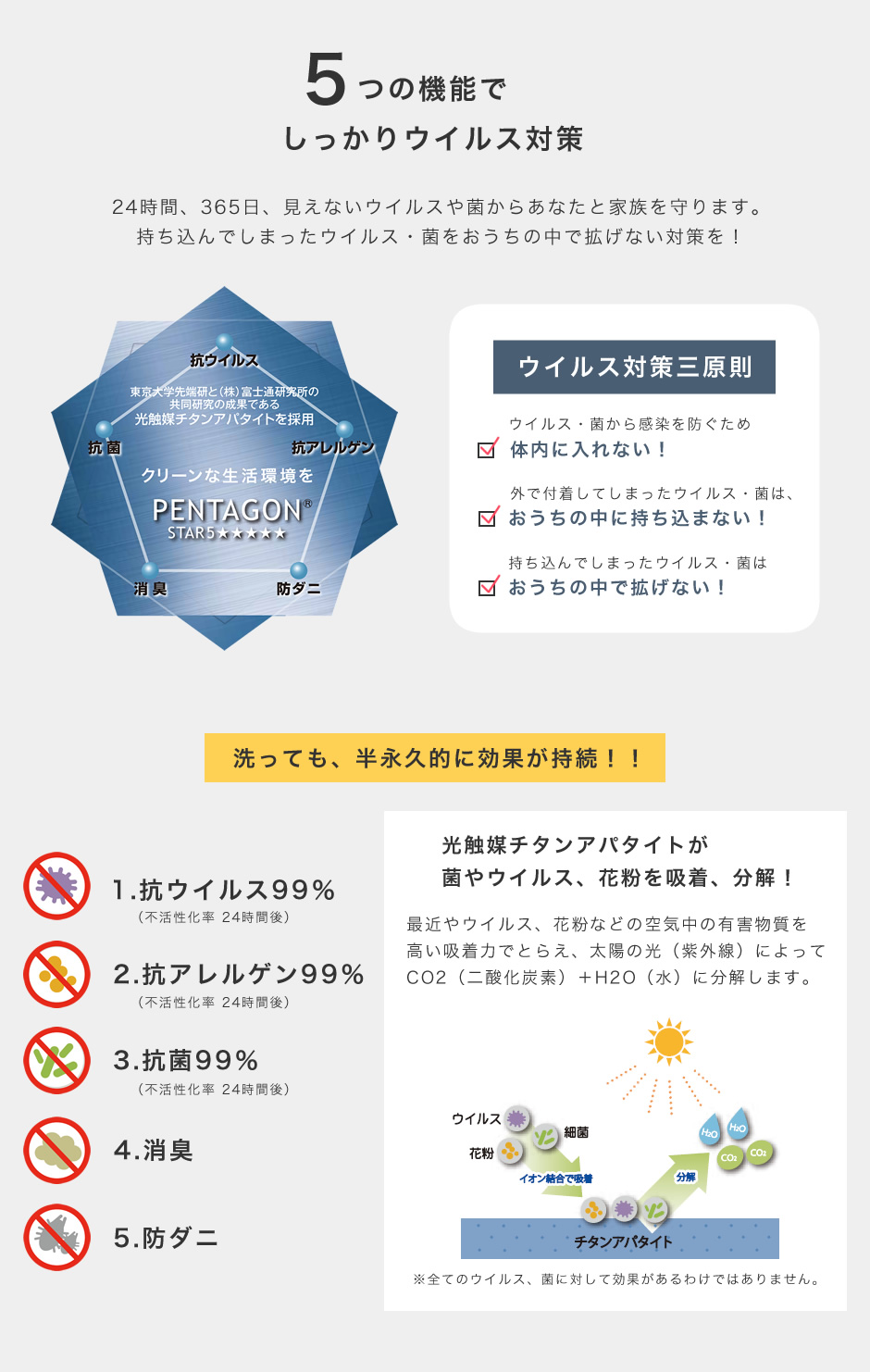 抗ウイルス機能が追加されたラグ ジャスパープラス プレーベル