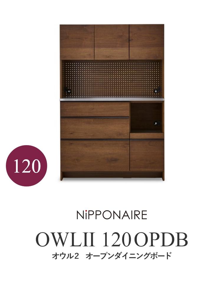 【開梱設置】 OWL(オウル) ダイニングボード 100OPDB WN(ウォールナット) OAK (ホワイトオーク) ニッポネア NiPPONAIRE