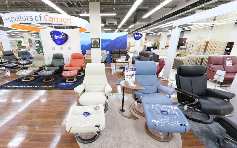 家具のホンダはストレスレスチェアの正規代理店