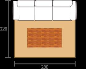 3人掛けソファ+テーブル
