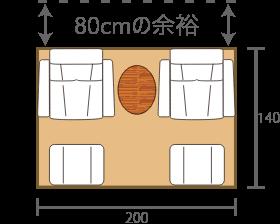 パーソナルチェア2脚+サイドテーブル