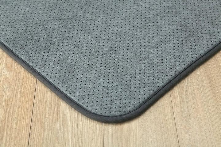 ラグカーペット専用 ズレ防止下敷きマット ウレタン10mm 防音対策 両面滑り止め加工付き