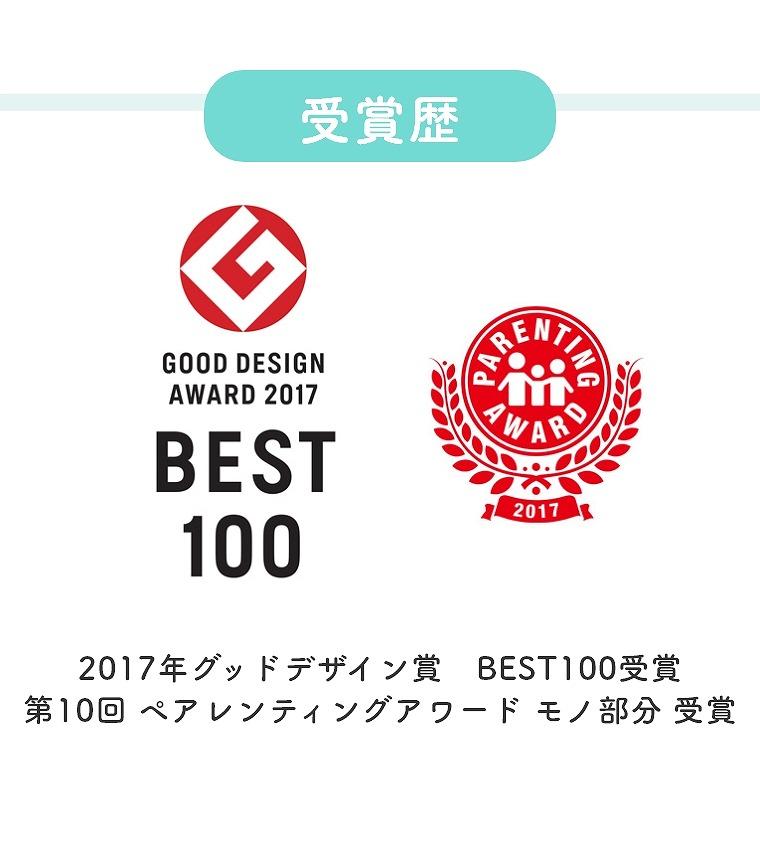 2017年グッドデザイン賞 BEST100受賞