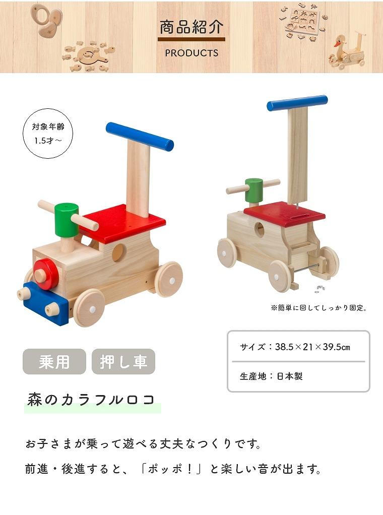 商品紹介_森のカラフルロコ W-86