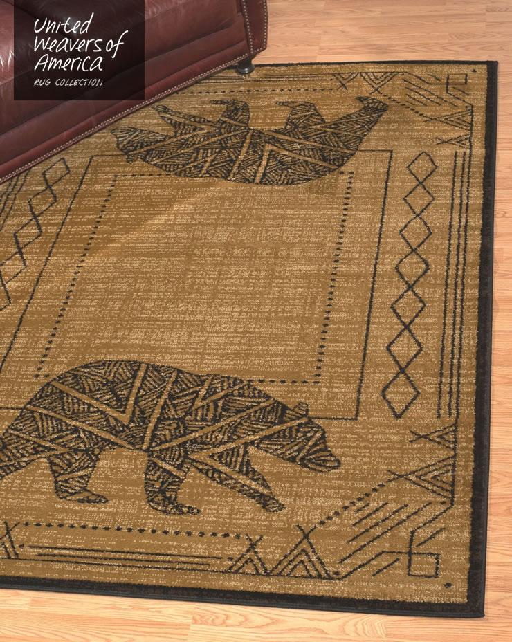 ラグ アフィニティコレクション ベアーケイブ ルームサイズ 160×220cm Bear Cave