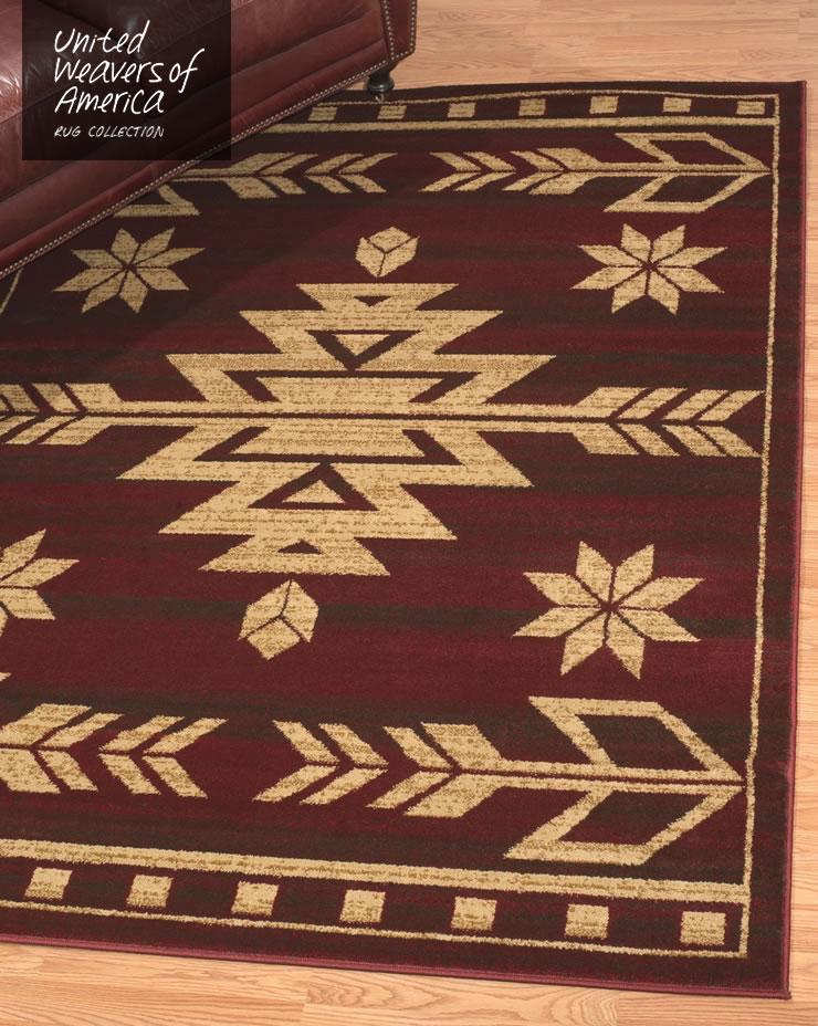 ラグ アフィニティコレクション テトン レッド ルームサイズ 160×220cm Teton Red