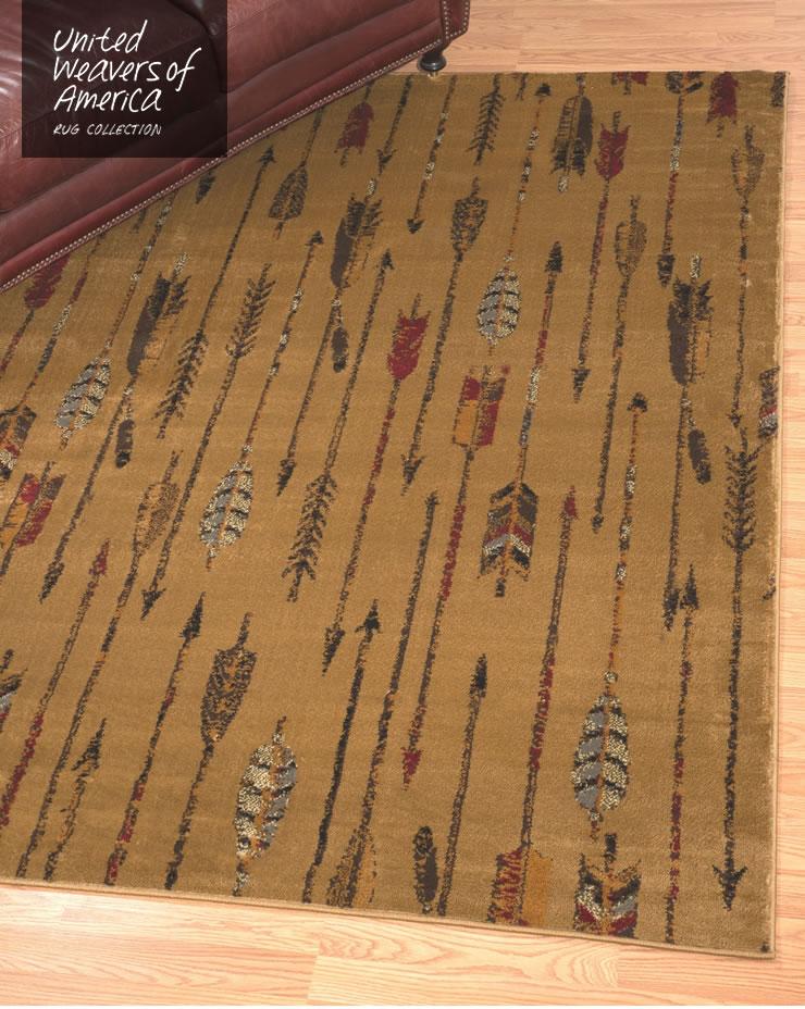 ラグ アフィニティコレクション キルテッドアロー ルームサイズ 160×220cm Quilted Arrow
