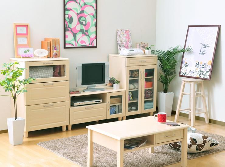 ピュア 佐藤産業 北欧系収納家具