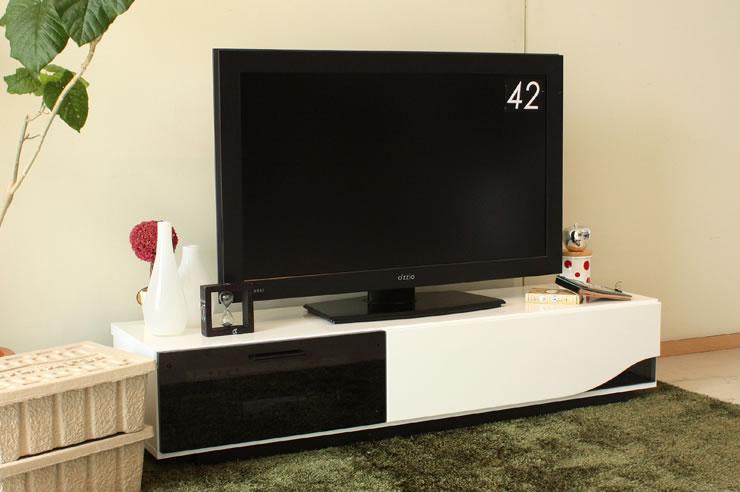 北欧モダンデザイン Quatro クアトロ 150ローボード TVボード