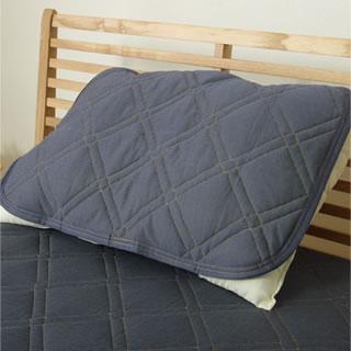 デニム枕パッド 約43×63cm