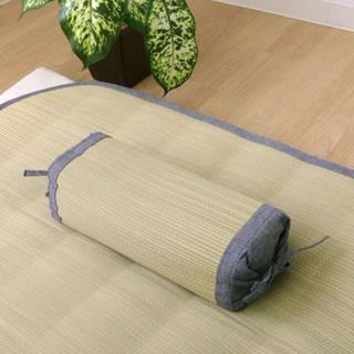 素肌草デニム 角枕 約30×15cm