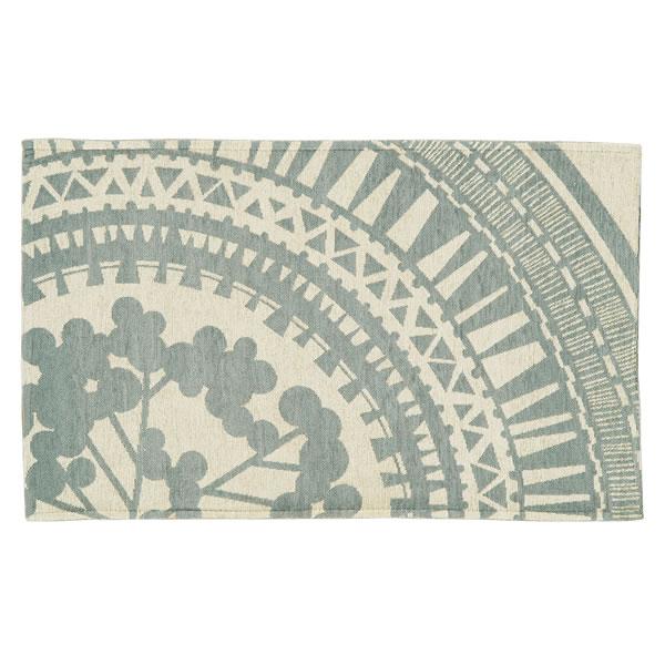 人気のメダリオンデザインのゴブラン織マット レイス